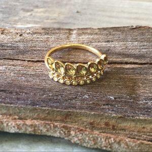 Stella & Dot Briar Sparkle ring size 5
